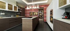 Luxury Kitchen and accessories at Kessaku by Phoenix Group - Ultra luxury apartment in Bangalore