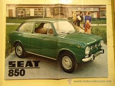 CATALOGO SEAT 850 año 1970 Seat 850, Henry Ford, Retro Cars, Nostalgia, Car Ins, Fiat, My Childhood, Cool Photos, Car Seats