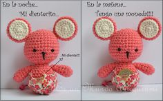 Free Pattern Ratoncita..      not in English..but figure-out-able..