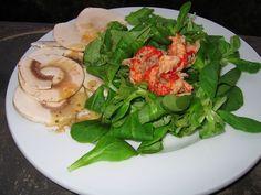 Feldsalat Champignons und Flußkrebs ist schon ein besonderer Salat. Feldsalat schmeckt nussig und passt fast zu allen Gerichten wie Flusskrebse .