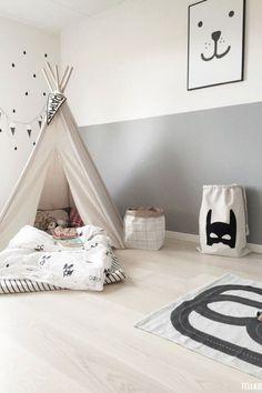 Children's hut. The Perfect Lighting Designs for Kids Bedrooms http://modernfloorlamps.net/perfect-lighting-designs-kids-bedrooms/