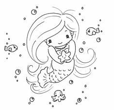 Cute Mermaid Coloring Pages . Cute Mermaid Coloring Pages . Coloring Ideas the Little Mermaid Coloring Pages Free to Mermaid Coloring Pages, Coloring Pages To Print, Coloring Book Pages, Printable Coloring Pages, Coloring Pages For Kids, Coloring Sheets, Tattoo Painting, Cute Mermaid, Beautiful Mermaid