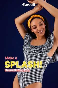 What's your swim style? From trendy one-piece suits to bright bold bikinis — discover all the summer trends you'll love for less. Swim on in to Marshalls! Pajama Outfits, Swimwear Cover Ups, One Piece Suit, Black Girl Fashion, One Piece Swimwear, Summer Trends, Fashion Beauty, Jeans, Swimsuits