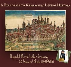 Giveaway: Playmobil Martin Luther | 20 Winners | Ends 10/31/2015 | A Fieldtrip to Remember (sponsored)