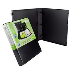 UniKeep 3 Ring Binder - Black - Case View Binder - 1.5 In... #UniKeep https://www.amazon.com/dp/B014TCQ61G/ref=cm_sw_r_pi_dp_x_27clyb8BD11CM #Documentstorage #Safety #Amazon