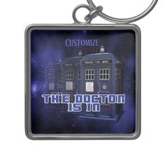Shop for customizable Doctor keychains on Zazzle. Buy a metal, acrylic, or wrist style keychain, or get different shapes like round or rectangle! Police Call, Customized Girl, Key Chains, Colorful Backgrounds, I Shop, Have Fun, Fandom, Invitations, Box