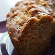 A super delicious pear cake, which is the perfect way to make use of pears when in-season. Serve thickly sliced with sweetened whipped cream for dessert. Sweet Recipes, Cake Recipes, Fresh Pear Recipes, Pear Dessert Recipes, Jelly Recipes, Recipes With Pears, Asian Pear Recipes, Pear Bread, Pear Sauce