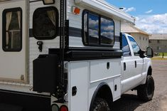 A very nice built FWC on Ford super duty. - Expedition Portal - note utility bed