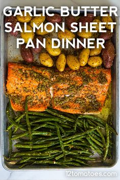 A one-pan delicious dinner. 12 Tomatoes Recipes, Fish Recipes, Seafood Recipes, Soup Recipes, Recipies, Quick Weeknight Dinners, Quick Dinner Recipes, Easy Meals, Recipe Sheets