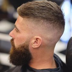 Amazing Undercut Hairstyle For Men In This Year 39 Mens Hairstyles With Beard, Undercut Hairstyles, Haircuts For Men, Cool Hairstyles, Latest Hairstyles, Beard Styles For Men, Hair And Beard Styles, Short Hair Cuts, Short Hair Styles