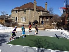 30x45 Basketball Court by Total Sports Solutions | Active kids. Happy kids | Ontario, Quebec and the Maritimes, Canada Waterloo, ON