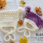 Boblelue-oppskrift Crochet Hats, Fashion, Knitting Hats, Moda, Fashion Styles, Fashion Illustrations