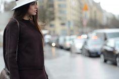 DEFYING RAIN | #StreetStyle on #TheStreetMuse by #MelanieGalea with #MaisonMichel during #Paris #HauteCouture #FashionWeek