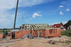 Budowa domu Miluś wg projektu MG Projekt  #milus #mgprojekt #budowa #projekt