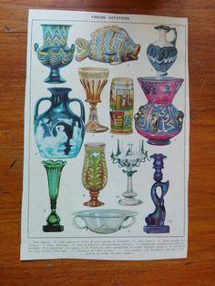 AMAZONAS DEL PASADO: VIDRIOS ARTÍSTICOS Coasters, Crystals, Glass, Artists, Amazons, Past Tense, Coaster, Crystal, Crystals Minerals
