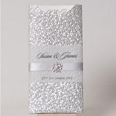Pebble Embossed Wallet with Snowflake Embellishment. www.happyeverafter.ie