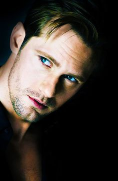 Alexander Skarsgard, Eric Northman of True Blood... He has got to be one of the top 5 sexiest men alive, in my opinion & he is sooo like #1 on my WANT list! Mmmm :)