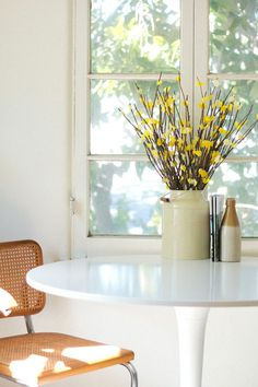 west elm Paper Flowers styled by @jessicacomingre!