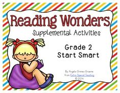 This free unit helps supplement Smart Start and gives you a sample of some of the activities found in my Reading Wonder Units.  In this unit, you will find:  *Anchor Charts for Fables and Take Turns *Retelling comprehension page *Writing Graphic Organizers *Zap! High Frequency Sight Word Game (includes words from