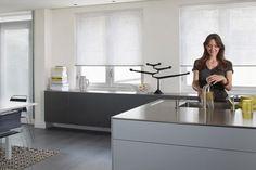keuken rvs blad met grijs - Google zoeken