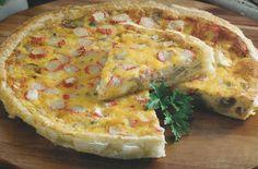 Tarte de Delícias e Cogumelos - https://www.receitassimples.pt/tarte-de-delicias-e-cogumelos/