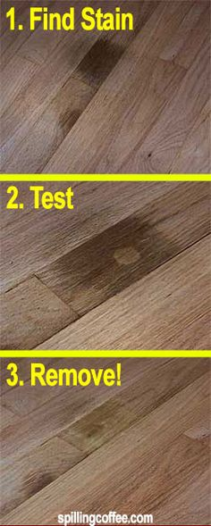 Here's a simple (and inexpensive) way to remove black pet urine stains from hardwood floors!