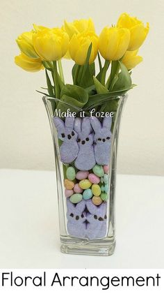 Easter bouquet by Make it Cozee: