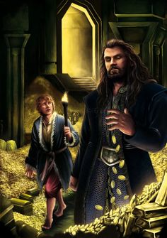 By the spell of gold. by sekiq on DeviantArt Hobbit Art, The Hobbit, Lord Sauron, Bagginshield, Thorin Oakenshield, Dark Lord, Film Books, Gandalf, Middle Earth
