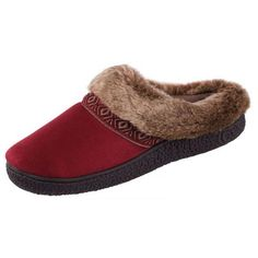 096dfd13aed Isotoner Womens Smartzone Gel Comfort Technology Scuff Slippers (6.5-7 B(M)