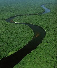 The Congo River!! The deepest river in the world! More then 640 ft deep in some places! With some of the thickest jungle on both sides!! :D A adventures dream!! So if anyone is going and has a spare ticket you know who to call!