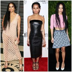 The 21 Best-Dressed Women Right Now - Style comes easy to actress and musician, Zoe Kravitz (daughter of boho queen Lisa Bonet and glam-rock god Lenny Kravitz).
