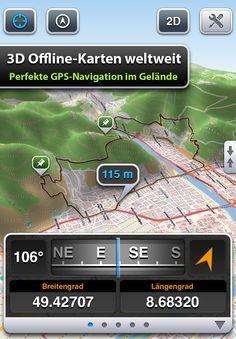 Maps 3D App heute im Angebot (Fahrrad, Wandern, Ski & Outdoor)