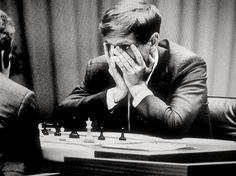 Le célèbre match de 1972 entre l'Américain Bobby Fischer, et le Russe Boris Spassky.