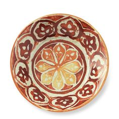 Red Byzantine Melamine Individual Bowls, Set of 4