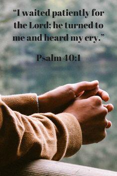Do you ever wonder if God hears your cries? #mareedee #embracingtheunexpected #pray #Jesus# #faith #bible #prayer #christian