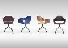 Showtime chair - Swivel base   BD Barcelona Design