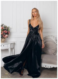 Formal Dresses, Fashion Black, Style, Dresses For Formal, Swag, Formal Gowns, Formal Dress, Gowns, Formal Wear