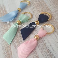 Diy And Crafts, Arts And Crafts, Christening, Jewelery, Jewelry Making, Baby Shower, Napkin Rings, How To Make, Tassels