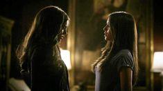 Elena & Katherine moment.  Doppleganger! :)
