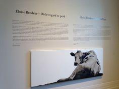 """Ou le Regard se perd"" exhibition by artist Éloise Brodeur at the Sherbrooke Museum of Fine Arts Museum Of Fine Arts, Graffiti, Contemporary Art, Street Art, Art Gallery, Inspiration, Artist, Biblical Inspiration, Art Museum"
