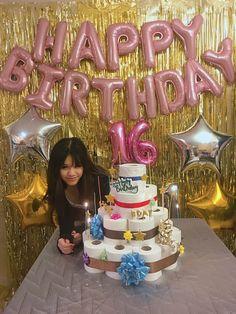 Happy 16th Birthday, Birthday Cake, Party, Desserts, Tailgate Desserts, Deserts, Birthday Cakes, Parties, Postres