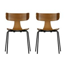 Nice Der Stapelstuhl Form pr sentiert sich in einem schlichten Retro Design Er besteht aus Holz