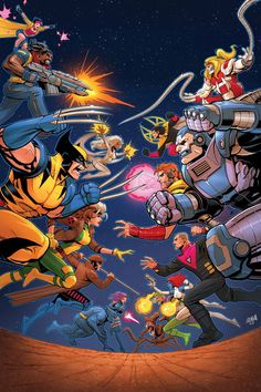 X-MEN '92 Is About More Than 'Covering The 1990's Greatest Hits' | Newsarama.com