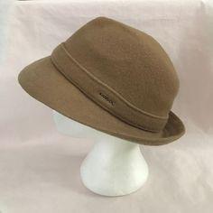 22f55a806fe Kangol Blue Gaffer Trilby Wool Rounded 3883 Cap Hat Bronz Tan Xl X-large  6445bc