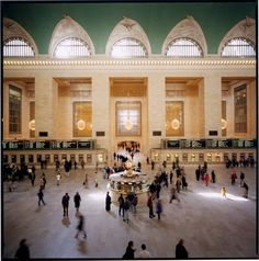 Grand Central's Concourse & the famous information booth clock.