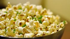 Love Heidi Swanson's dijon-butter-herb popcorn recipe from Super Natural Every Day!