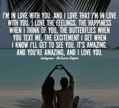 ❤️❤️ I love you too babe. I am so so in love with you. WE are soulmates ♥️ bestmates ♥️ and everything♥️ Romantic Love Quotes, Love Yourself Quotes, Love Quotes For Him, Me Quotes, Funny Quotes, Soul Qoutes, Love Poems For Him, My True Love, Boyfriend Quotes