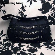 Custom Heavy Metal Gothic Clutch Bag  EXECUTIONER  by beanbun, $32.50
