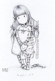 Dibujos para colorear de gorjuss - Imagui