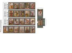 Papel libro Casa De Muñecas En Miniatura Mini Notebook revista regalo decoración de casa al azar ~!